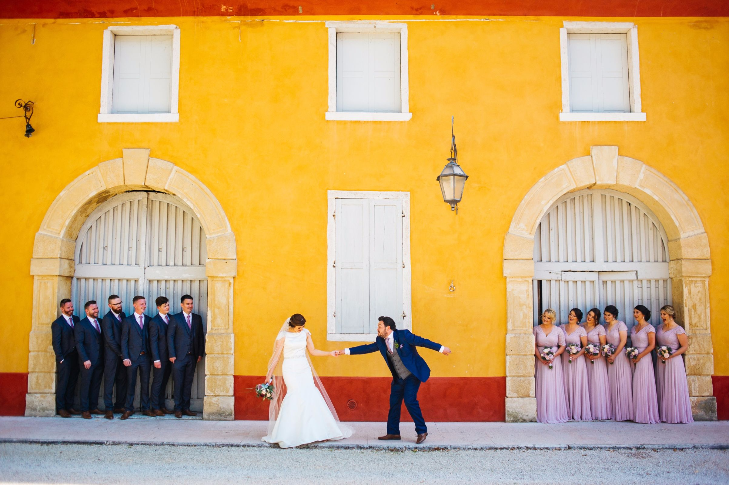Aimee & Ronan - Destination wedding in Italy